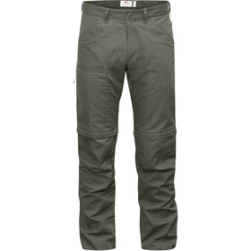 Fjällräven High Coast Zip-Off Housut Miehet, mountain grey